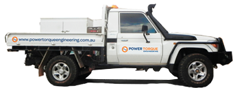 Power Torque Engineering Truck